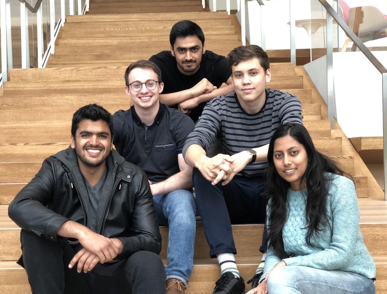 Photo of litOS team