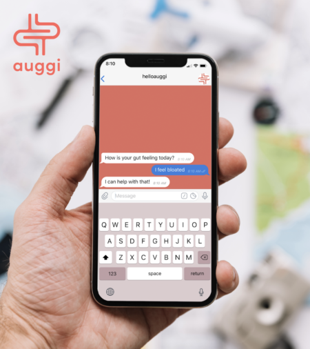 Auggi mobile user interface