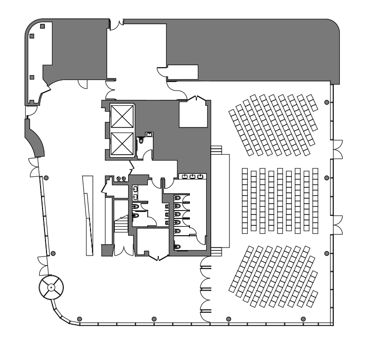 Verizon Executive Education Center floor plan